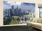 Financial District, Singapore Wall Mural – Large by Alan Copson