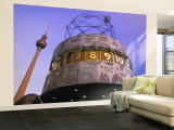 Universal Clock, Alexanderplatz, Berlin, Germany Wall Mural – Large by Walter Bibikow