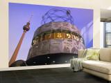 Universal Clock, Alexanderplatz, Berlin, Germany Wall Mural – Large by Walter Bibikow