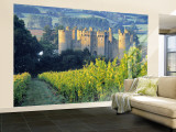 Bodiam Castle, East Sussex, England Wall Mural – Large by Peter Adams
