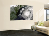 Hurricane Alex off the United States East Coast (Afternoon Overpass) Wall Mural