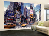 Times Square, New York City, USA Wall Mural – Large by Doug Pearson