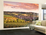 Irancy, Chablis, Burgundy, France Wall Mural – Large par Doug Pearson