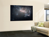 Magellanic Dwarf Irregular Galaxy NGC 4449 in the Constellation Canes Venatici Wall Mural