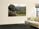 Conducting Drills with the M16-A2 Service Rifle Wall Mural