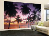 Pigeon Point, Tobago, Trinidad and Tobago Wall Mural  Large by Peter Adams
