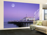 Palace Pier, Brighton, East Sussex, England Wall Mural – Large by Rex Butcher