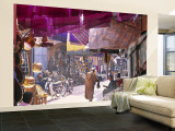 Marrakesh Market, Morocco Wall Mural – Large by Peter Adams