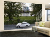 1970's Porsche 911, Riverside Park, Frankfurt-Am-Main, Hessen, Germany Wall Mural – Large by Walter Bibikow