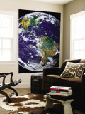 Full Earth Showing the Americas Wall Mural