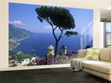 Villa Rufolo, Ravello, Amalfi Coast, Italy Wall Mural  Large van Demetrio Carrasco