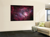 The Lagoon Nebula Wall Mural