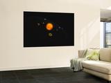 Solar System Wall Mural