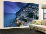 Positano, Amalfi Coast, Italy Wall Mural – Large by Walter Bibikow