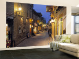 Rue de Petit, Champlain, Quebec City, Quebec, Canada Wall Mural – Large by Demetrio Carrasco