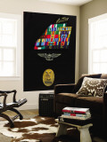 Command Master Chief Badge Wall Mural