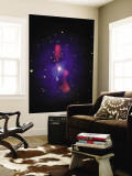 This is a New Composite Image of Galaxy Cluster MS0735.6+7421 Wall Mural