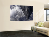 An F-117A Nighthawk Flies High Over the Mountains Above New Mexico Wall Mural