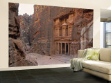 The Treasury, Petra, Jordan Wall Mural – Large by Jon Arnold