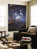 Swirls of Gas and Dust Reside in This Ethereal-Looking Region of Star Formation Wall Mural