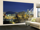 Calgary, Alberta, Canada Wall Mural  Large by Walter Bibikow