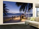 Resort de lujo, Isla Malolo, Islas Mamanuca, Fiji Gran mural por Michele Falzone