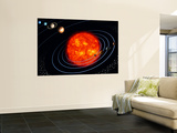 The Solar System Wall Mural