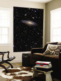 NGC 7331 is a Spiral Galaxy in the Constellation Pegasus Wall Mural
