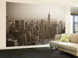 Manhattan Skyline Including Empire State Building, New York City, USA Wall Mural – Large by Alan Copson