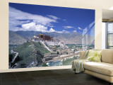 Potala Palace, Lhasa, Tibet Wall Mural – Large by James Montgomery Flagg
