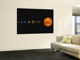 Solar System Wall Mural