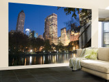 Central Park, New York City, USA Wall Mural  Large by Demetrio Carrasco
