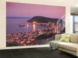 Harbour and Town of Horta, Faial Island, Azores, Portugal Wall Mural  Large por Alan Copson