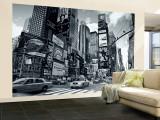 Times Square, New York City, États-Unis Reproduction murale (géante) par Doug Pearson