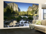 El Capitan, Yosemite National Park, California, USA Wall Mural – Large by Walter Bibikow