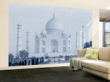 Taj Mahal, Agra, India Wall Mural – Large by Jon Arnold