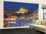 Cathedral, Palma, Mallorca, Spain Wall Mural – Large by Neil Farrin