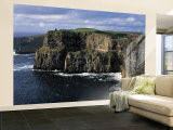 Cliffs of Moher, County Clare, Ireland Wall Mural – Large by Gavin Hellier