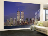 Manhattan, New York City, NY, USA Wall Mural – Large by Walter Bibikow