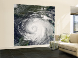 Hurricane Ike, from International Space Station Wall Mural – Large