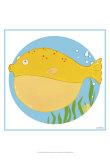 Billy the Blowfish Kunstdrucke von Erica J. Vess