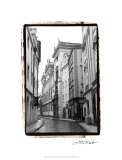 The Streets of Prague II Premium Giclee Print by Laura Denardo