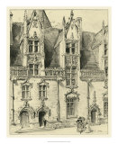 Ornate Facade II Giclee Print by Albert Robida