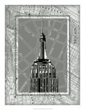 Tour of New York II Giclee Print by Ethan Harper