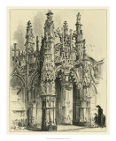 Ornate Facade IV Giclee Print by Albert Robida
