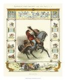 Equestrian Display II Giclee Print by Charles Etienne Pierre Motte