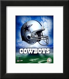 Dallas Cowboys Helmet Logo Art