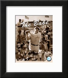 Babe Ruth - Legends Of The Game Composite Print