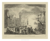 Antique Harbor I Giclee Print by Claude Lorrain