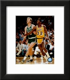 Larry Bird and Magic Johnson Poster